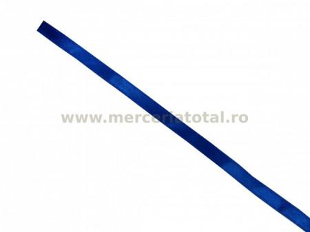 Panglica saten 7mm albastru
