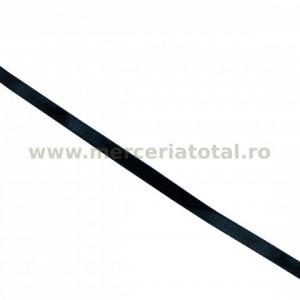 Panglica saten 7mm negru