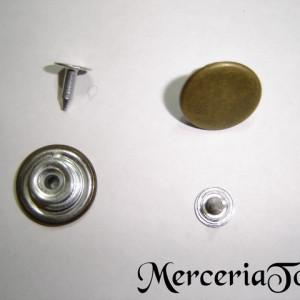 Nasturi metalici 16mm bronz