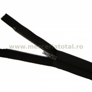 Fermoar metalic 15cm maro inchis