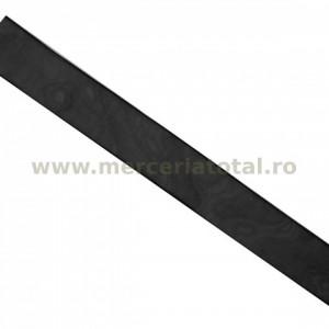 Panglica organza 25mm negru