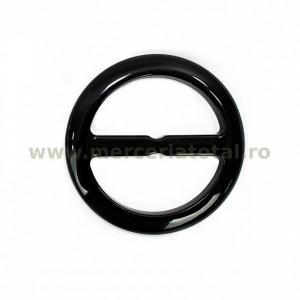 Catarama plastic rotunda 40mm negru