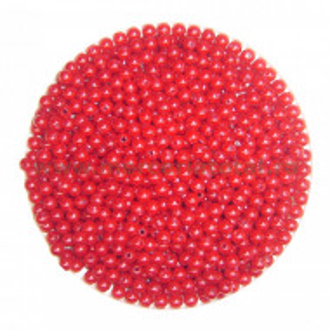 Margele perla rosu