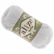 Alize Bella 100 55 white