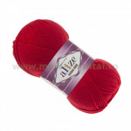 Alize Cotton Gold 56 red