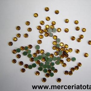 Strasuri 4mm auriu