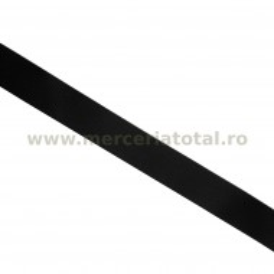 Panglica rips 20mm negru