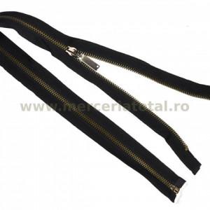Fermoar metalic detasabil 60cm negru