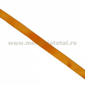 Panglica saten 12mm portocaliu