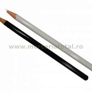 Set creioane croitorie alb/negru