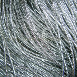 Snur metalic argintiu