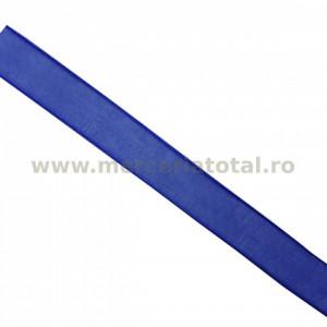 Panglica organza 12mm albastru