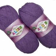 Alize Cotton Gold 616 purple
