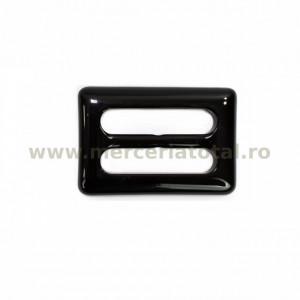 Catarama plastic dreptunghi 30mm negru
