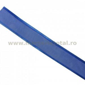 Panglica organza 25mm albastru