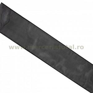 Panglica organza 40mm negru