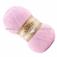 Alize Angora Gold 185 powder pink