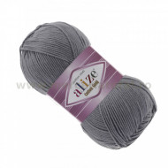 Alize Cotton Gold 87 coal grey