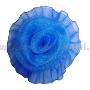Floare organza albastru