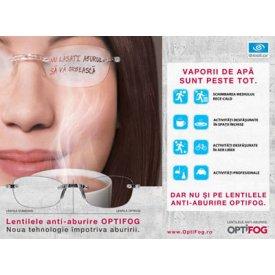 Optifog (lentile anti-aburire)