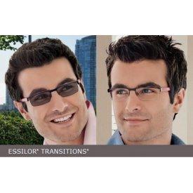 Transitions - lentile fotocromice maro/gri