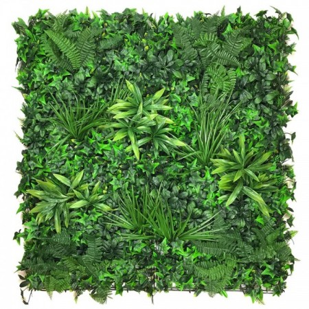 Poze VV 6124 GreenWall Mix-perete verde artificial,sintetic 1x1m