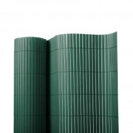 Poze BAMBOO verde, gard din Bambus artificial, role de 2m x3m
