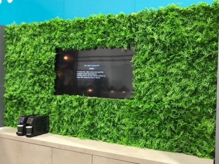 Poze VV 6117 GreenWall small-leaves-perete verde artificial,sintetic 1x1m