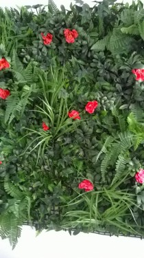 Poze VV 6121 GreenWall dianthus-gard viu artificial,sintetic 1x1m