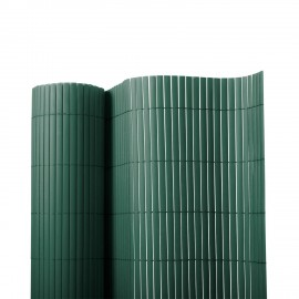 Poze BAMBOO verde, gard din Bambus artificial, role de 1m x3m