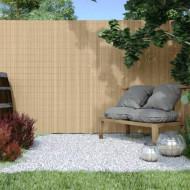 BAMBOO galben, gard din Bambus artificial, role de 2m x3m