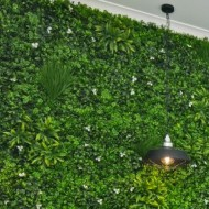 VV 6122 GreenWall white-perete verde artificial,sintetic 1x1m
