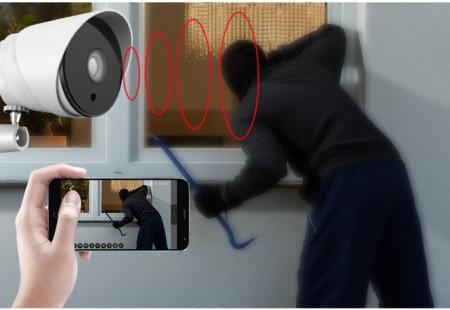 Poze Camera Video Ip 720P de Exterior cu inregistrare pe CARD WIFI & IR-Cut iOS, Android