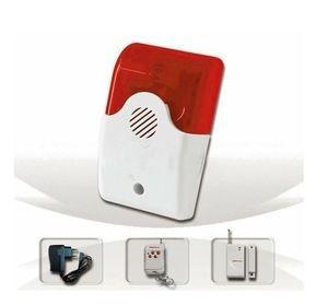 Poze Sistem Alarma Casa cu Sirena Wireless Si Flash Luminos