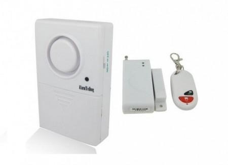 Poze Senzor intrare usa wireless cu dubla functie: Ding Dang sau Securitate Alarma 80 Db