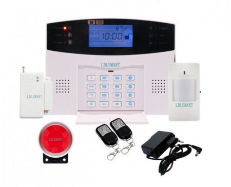 Poze Noul Sistem de Alarma GSM 819 99 zone wireless si 7 zone cu fir