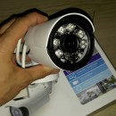 Camera Ip Profesionala de Exterior cu inregistrare pe CARD WIFI & IR-Cut