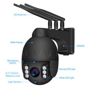 Camera supraveghere exterior ROTATIVA IP wireless SIM 4G Full HD SONY323 20fps