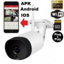 Camera Video de EXTERIOR Fuld HD Wi-Fi IP cu inregistrare pe card/cloud