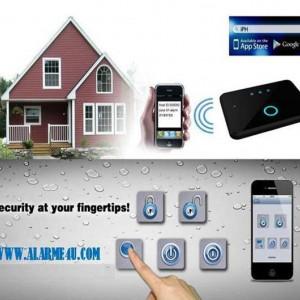 Alarma Casa GSM Profesioanla cu acces APP pe IOS/ANDROID