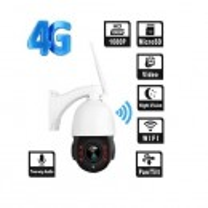 Camera supraveghere exterior ROTATIVA IP wireless SIM 4G Full HD Sony 1920x1080p 10X Zoom Optic, Sd Card