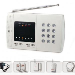 Sistem alarma casa PSTN cu apelare de pe telefonul fix - cel mai mic pret din Romania !