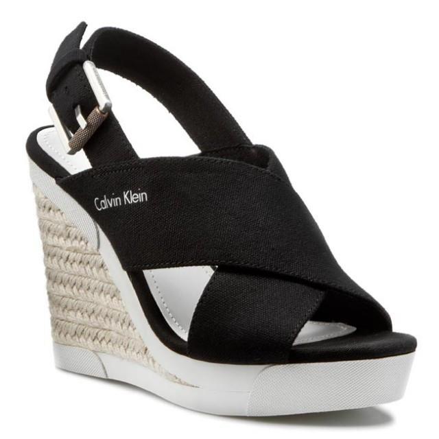 sandale dama calvin klein jeans. Black Bedroom Furniture Sets. Home Design Ideas