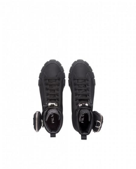 Sneakers Prada Wheel Re-Nylon high-top