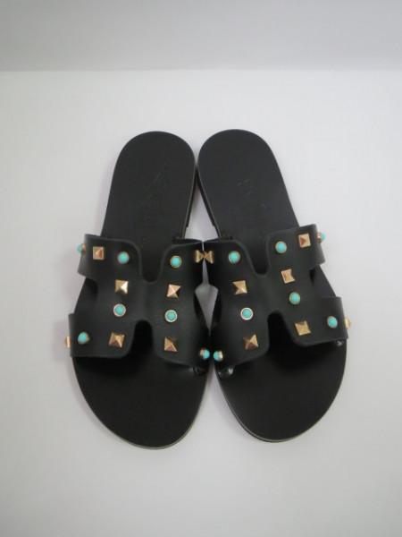 Papuci dama ATHENA HANDMADE GREEK SANDALS