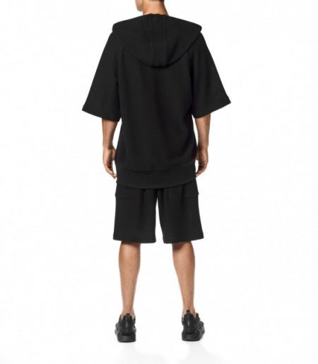 Tricou Y-3 CH3 Chain Mesh Hooded TEE