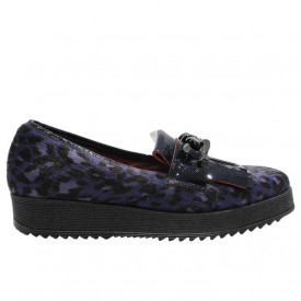 Pantofi casual Donna Piu leopard blue