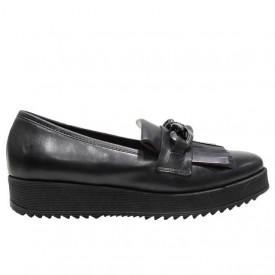 Pantofi casual Donna Piu tequila nero