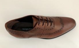 Pantofi eleganti cu model wingtip Luciano Partelli