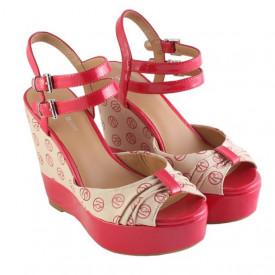Sandale cu platforma Armani Jeans